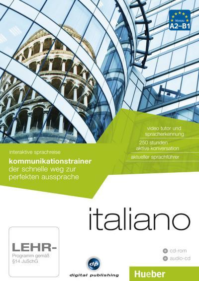 Italiano - Interaktive Sprachreise Kommunikationstrainer, CD-ROM + Audio-CD