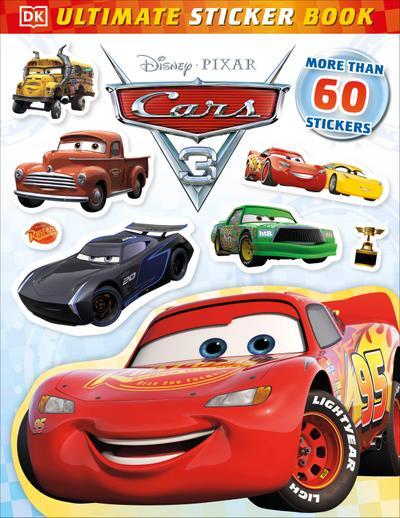 Ultimate Sticker Book: Disney Pixar Cars 3