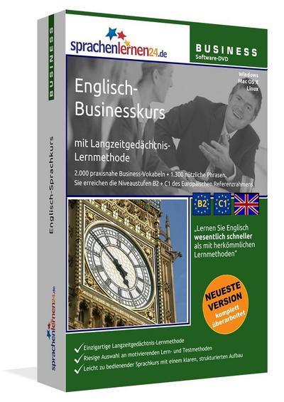 Sprachenlernen24.de Englisch-Businesskurs Software