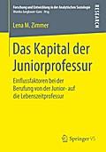 Das Kapital der Juniorprofessur