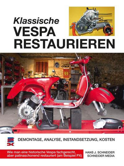 Klassische Vespa restaurieren