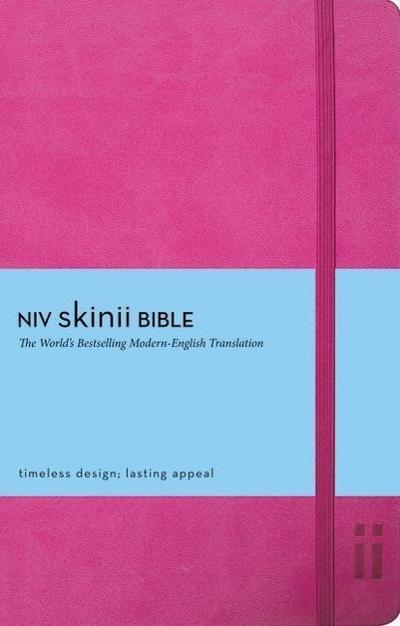 NIV, Skinii Bible, Imitation Leather, Green, Red Letter Edit