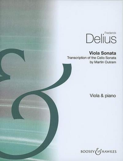 Viola Sonata: Transkription der Cellosonate. Viola und Klavier.