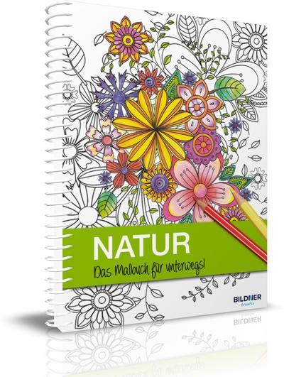 NATUR - Das Malbuch für unterwegs!