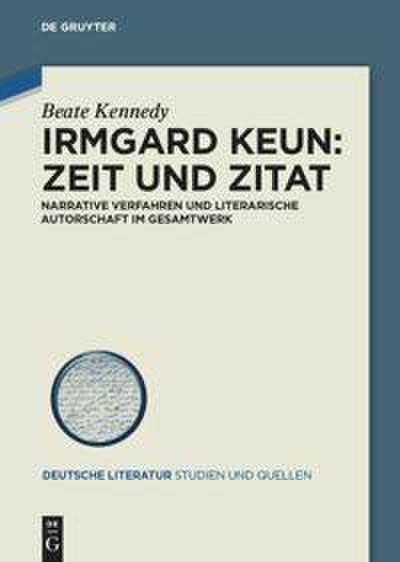 Irmgard Keun: Zeit und Zitat