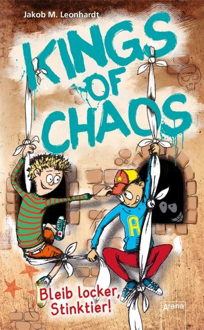 Kings of Chaos (3). Bleib locker, Stinktier!; Kings of Chaos; Ill. v. Seidel, Sebastian; Deutsch
