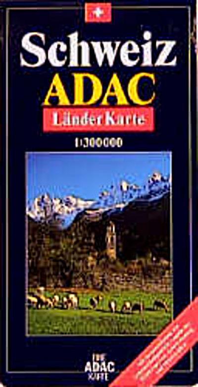ADAC Karte, Schweiz, Maßst. 1 : 300.000
