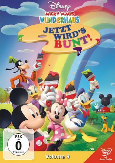 Micky Maus Wunderhaus - Vol. 9 - Jetzt wird`s bunt!
