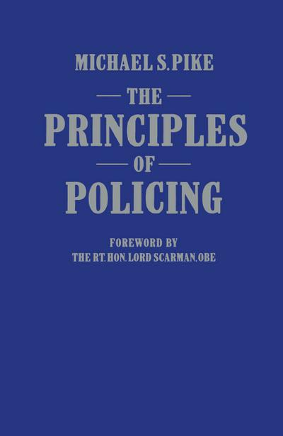 The Principles of Policing