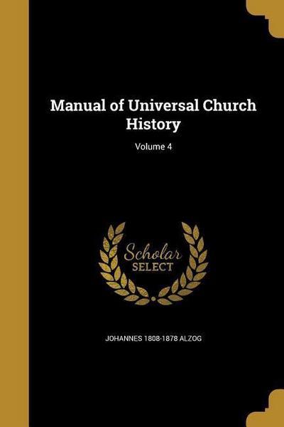 MANUAL OF UNIVERSAL CHURCH HIS