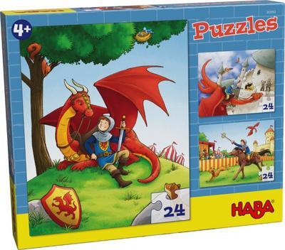 Haba 303353 Puzzles Ritter Kilian - Haba - Spielzeug, Niederländisch| Englisch| Französisch| Deutsch| Italienisch| Spanisch, Janina Görrissen, ,