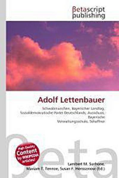 Adolf Lettenbauer