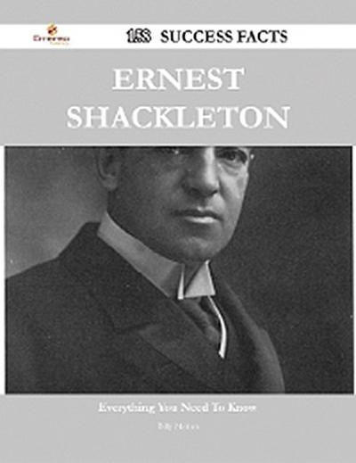 Ernest Shackleton 158 Success Facts - Everything you need to know about Ernest Shackleton