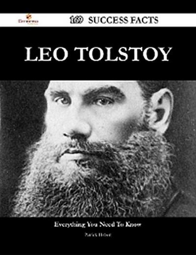 Leo Tolstoy 169 Success Facts - Everything you need to know about Leo Tolstoy