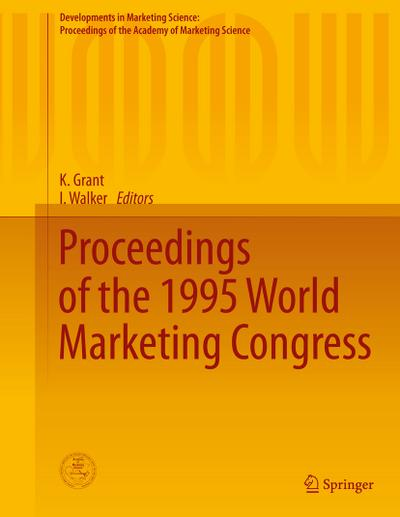 Proceedings of the 1995 World Marketing Congress