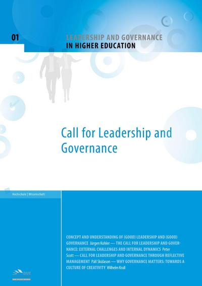 Leadership and Governance in Higher Education - Volume 1