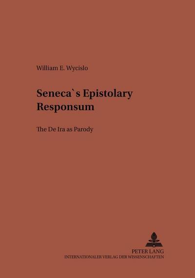 Seneca's Epistolary 'Responsum'