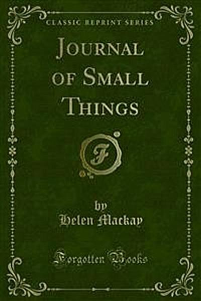 Journal of Small Things