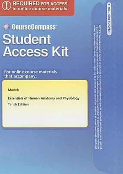 Essentials of Human Anatomy and Physiology Student Access Kit