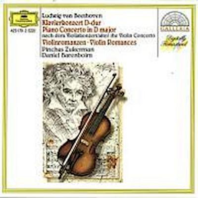 Beethoven: Piano Concerto after the Violin Concerto, Violin Romances