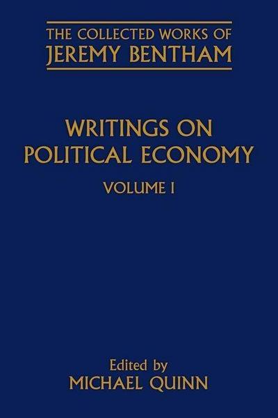 Writings on Political Economy: Volume I