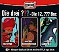 Die drei ??? Box 12. Folgen 34-36 (drei Fragezeichen) 3 CDs