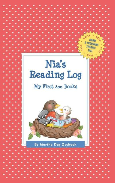 Nia's Reading Log: My First 200 Books (Gatst)