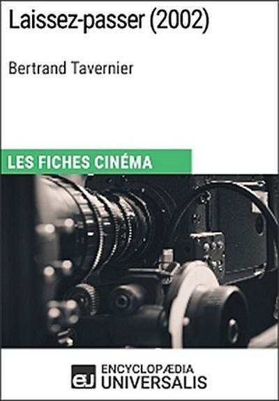 Laissez-passer de Bertrand Tavernier