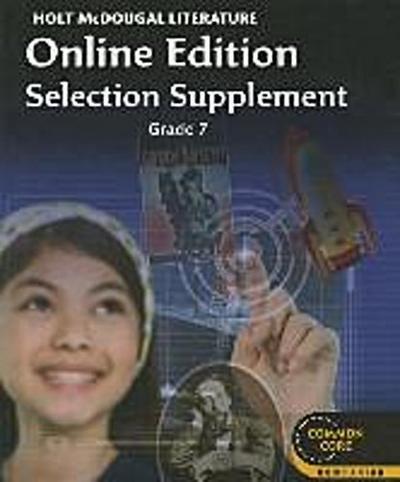 Literature Online Edition Selection Supplement, Grade 7