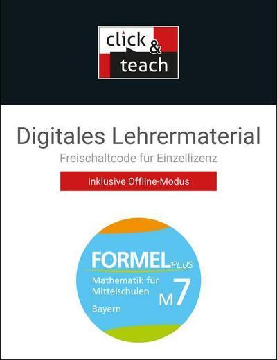 Formel PLUS M7 click & teach Box Bayern