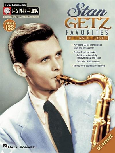 Stan Getz Favorites [With CD (Audio)]