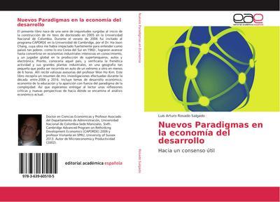 Nuevos Paradigmas en la economía del desarrollo