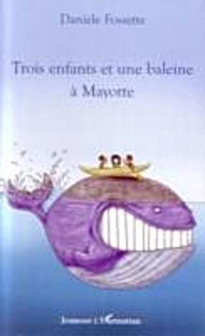 Trois enfants et une baleinea mayotte