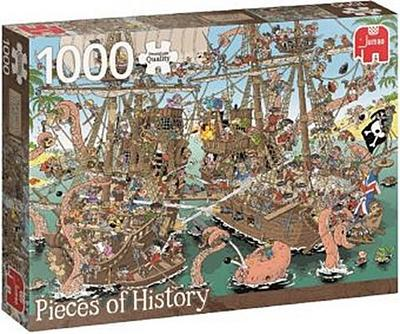 Rob Derks Pieces of History - Piraten (Puzzle)