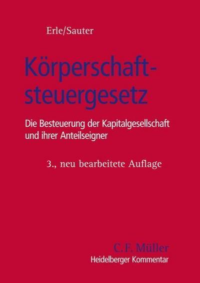 Heidelberger Kommentar Körperschaftsteuergesetz