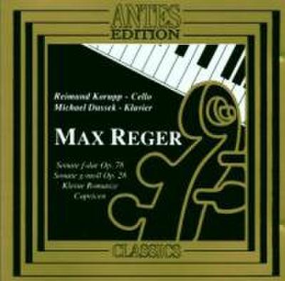 Reger Sonaten Für Cello+kla