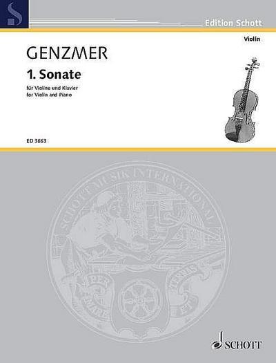 Sonate Nr.1für Violione und Klavier