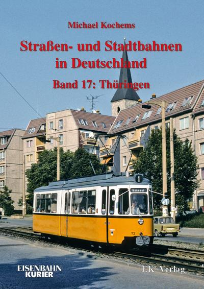 Strassen- und Stadtbahnen in Deutschland / Thüringen