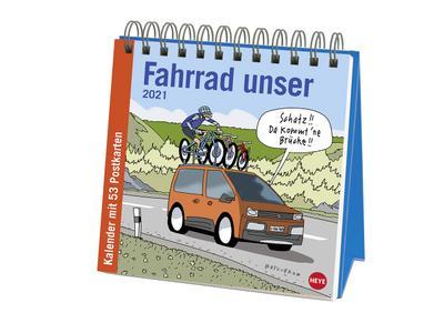 Butschkow Fahrrad unser -  Aufstell-Postkartenkalender 2021