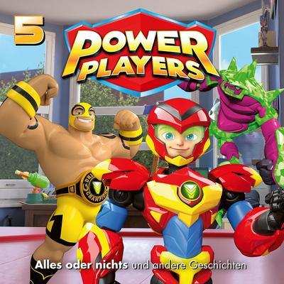 Power Players 05: Alles oder nichts und andere Geschichten