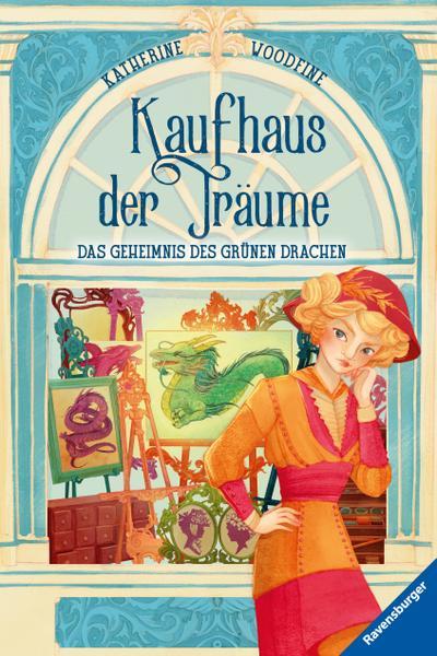 Kaufhaus der Träume, Band 3: Das Geheimnis des Grünen Drachen; HC - Kaufhaus der Träume; Ill. v. Fusi, Alessandra; Übers. v. Orgaß, Katharina; Deutsch; schw.-w. Ill.