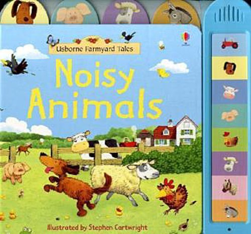 Felicity Brooks ~ Noisy Animals 9780746075074