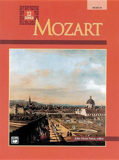 Mozart -- 12 Songs: Medium Voice