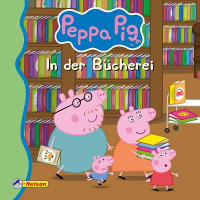 Maxi-Mini 1: Peppa: In der Bücherei (Nelson Maxi-Mini)