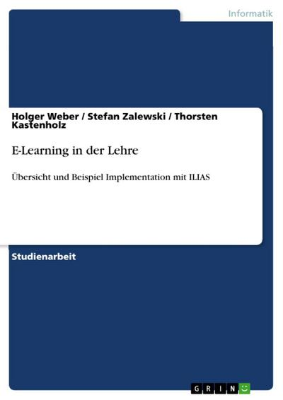 E-Learning in der Lehre