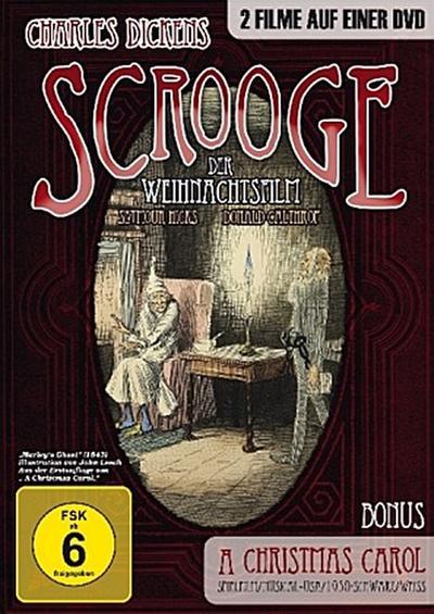 Scrooge - Der Weihnachtsfilm / A Christmas Carol, 1 DVD