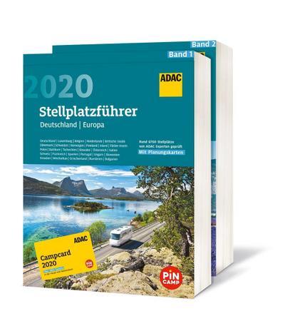 ADAC Stellplatzführer 2020 mit  ADAC Campcard 2020