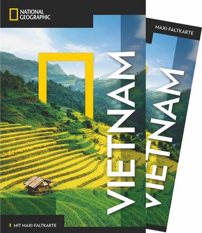 National Geographic Traveler Vietnam mit Maxi-Faltkarte