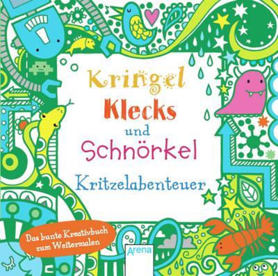 Kringel, Klecks und Schnörkel. Kritzelabenteuer   ; Ill. v. Figg, Non; Deutsch; ca. 128 S.