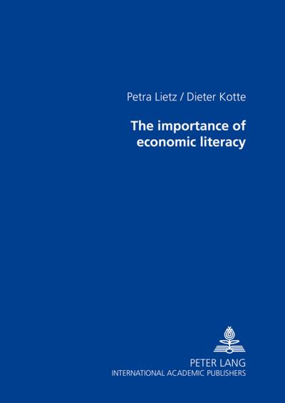 The importance of economic literacy